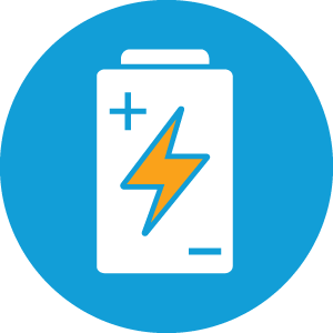 Guelph Solar Battery / Storage Icon