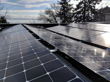 Oakville solar install and power wall