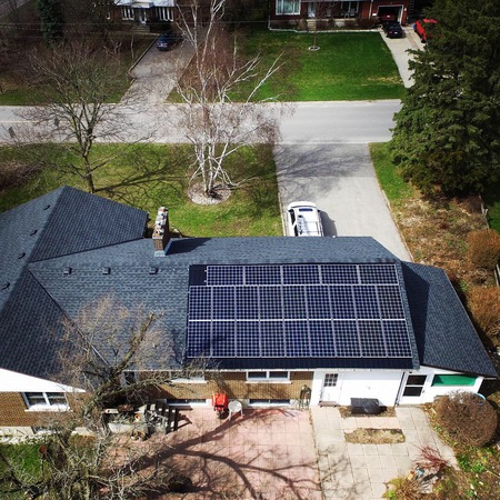 Premium solar intergrated roof Guelph