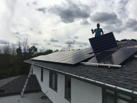 Stoney Creek Hamilton solar installation